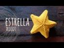 Tutorial Estrella 3D Tricot Palitos