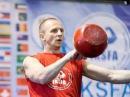 MSIC Sergey Rudnev classic kettlebell sport 32kg kettlebell snatch demonstration