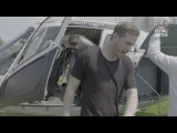 The Flying Dutch 2016 - Firebeatz arriving in Rotterdam by helicopter