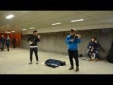 две скрипки и виолончель на Арбате