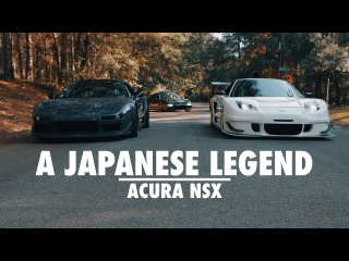 A Japanese Legend - Acura NSX