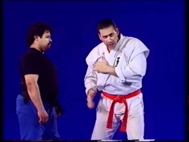 忍術 Shidoshi Frank Dux teaching punching