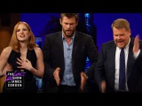 Emily Blunt &amp James and Jessica Chastain &amp Chris Hemsworth Bonded with Music