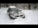 Extreme Off-road Octavia Scout 4x4 in Deep Snow
