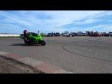 6км . Одесса. Kawasaki Ninja ZX10R