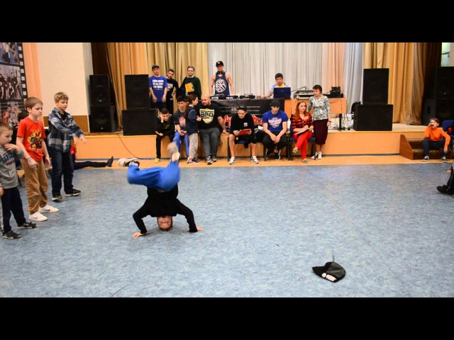 Youth Fest-4 | 9-12 років | bboy Dell (MRCLS) vs bboy Камікадзе a.k.a. BreakDan (Eurodance)