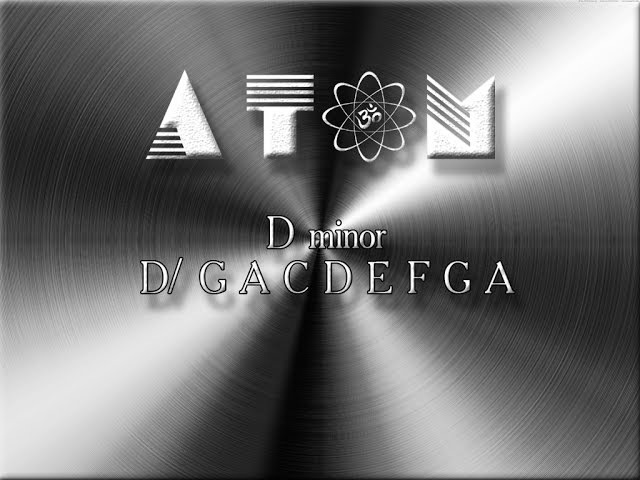 Музыкальный инструмент Atom Handpan Dmin
