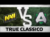 WATCH FIRST: True Classico - Na`Vi vs Alliance  Dream League S6