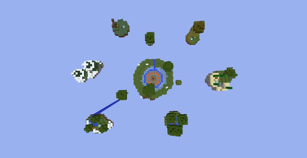 [MAP][+1.5] Карта для SkyWars собственного производства