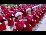 Марш китайских девушек солдат! Шикарно )