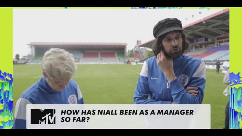 Sergio Pizzorno's interview at Soccer Aid - 2016