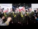 """Хор МВД исполняет """"Get Lucky"""" в прямом эфире"""