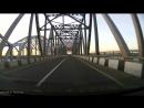 Утро. Мост через Волгу. Лось на дороге с 0100 мин