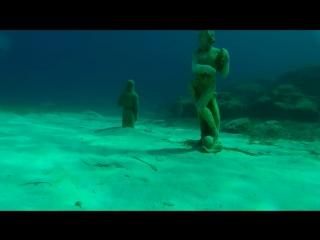 Фридайвинг. Кипр. Статуи.