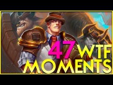 WTF MOMENTS 47! Hearthstone GADGETZAN Funny Plays and Lucky Moments!