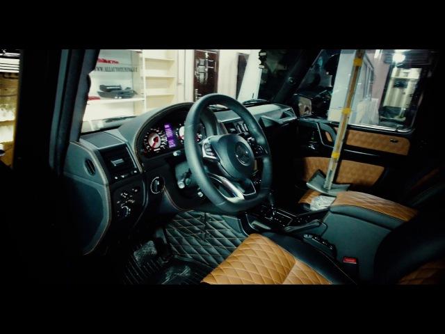 Mercedes-Benz G-class в обвесе Brabus Widestar G 700