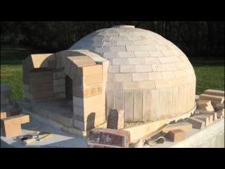 Pompeii Italian Brick Pizza Oven Construction