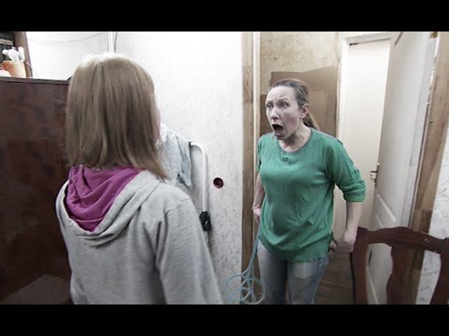 Жестокая драка дочки с матерью 12 апреля на СТБ