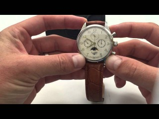 Elysee 12050 Vulcanos Chronograph Mechanical Watch Overview and Review