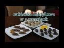 Zdrowe słodycze - cukierki w 3 wersjach / marcepanowe, morelowe i czekoladowo-pomarańczowe