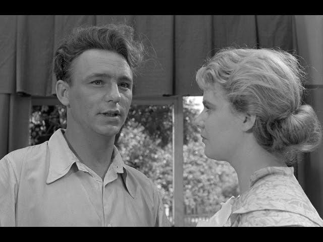 «Весна на Заречной улице», Одесская киностудия, ч/б, 1956, HD