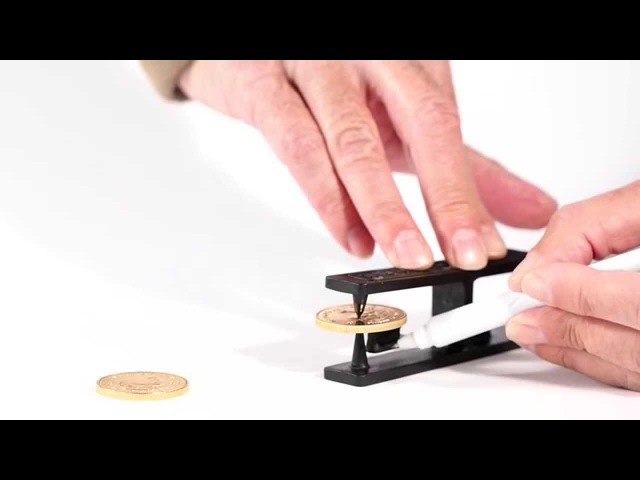 How to detect fake tungsten Krugerrand gold coins with The Ringer by Fisch