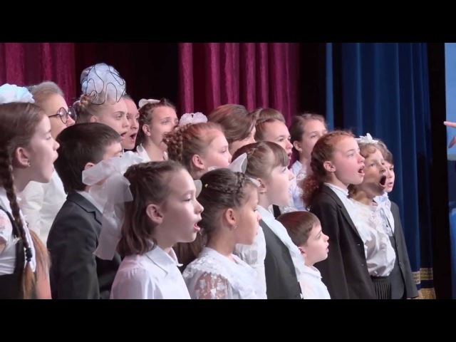 Детский хор поет рамштайн Мутер