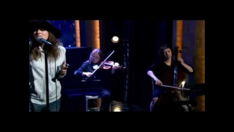 Cat Power The Greatest Live in late night with conan o'brian