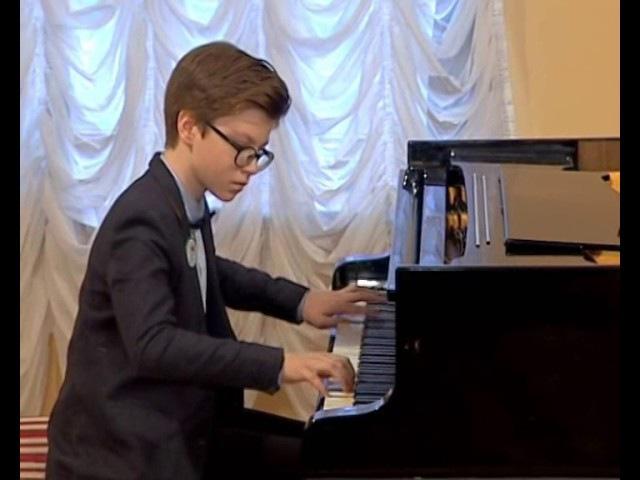 EMuse competition Nazariy Fesyk piano 12 years old Ukraine