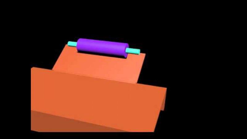 Упрощенная 3D модель моей станины для УШМ (по просьбе «Mistera NEMO»)