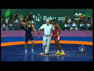 Азербайджанский борец завоевал девятую золотую медаль для страны ОБНОВЛЕНО Ф...
