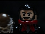 Lego The Walking Dead Negan Scene