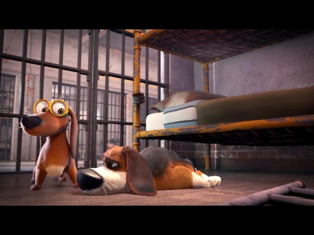 Большой собачий побег — трейлер