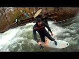 Сап-серфинг в Мюнхене? Да!