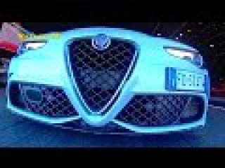 Alfa Romeo Giulia Quadrifoglio - КлаксонТВ