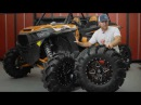 ITP Cryptid Mud Tires mounted on Storm Series Tornado Wheels