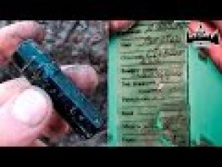 Вскрытие советского смертного медальона найденного в блиндаже | EE88
