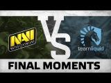 WATCH FIRST: Final Moments - Na`Vi vs Liquid  The Boston Major EU Quals