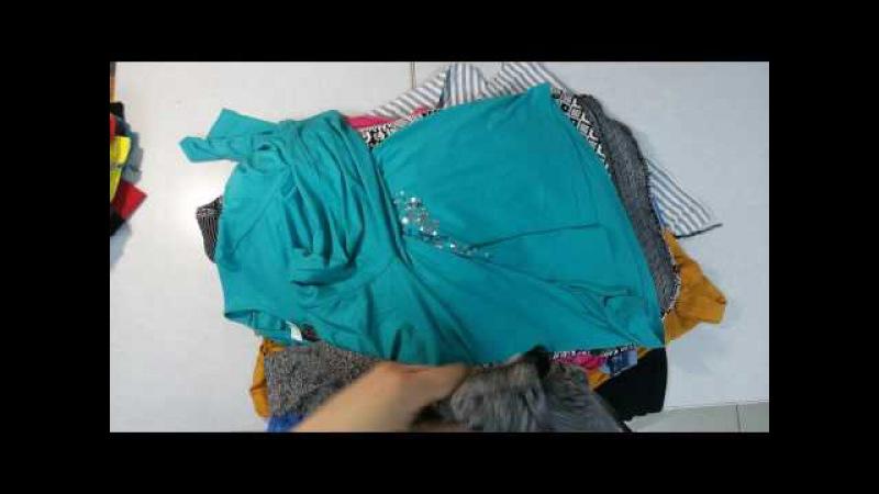 Blouses women cream - модные женские блузки без износа либо с минимальным, 2пакет, 7.2кг 36шт