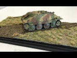 Building a easy diorama using Ammo by Mig  Grass mats plus weathering magazine.