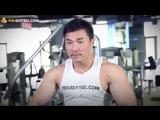 Мышцы груди. Сведение рук в кроссовере