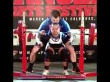 Мария Хти, приседания 181 кг