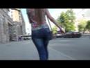 SEXy Girl !!! BIG ASS !!! Очень ШИКарная девушка с Большой Красиовй Попой !!! Part One