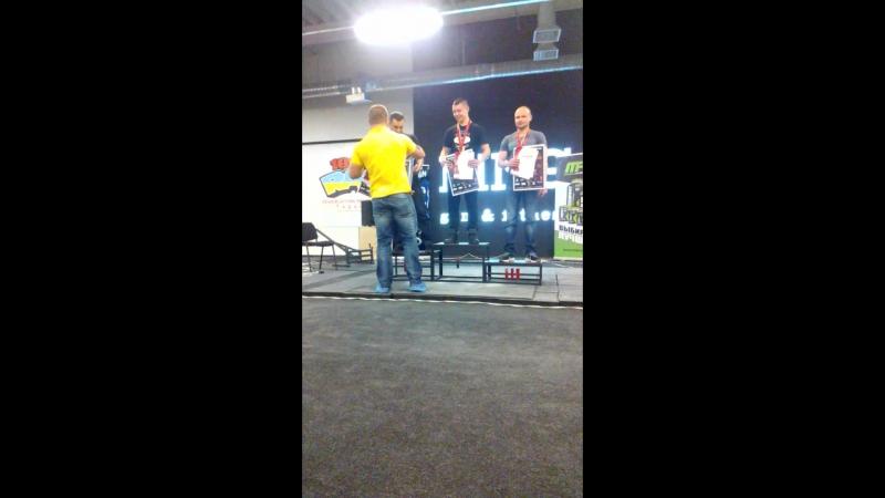 Чемпионат Украины RAW100%