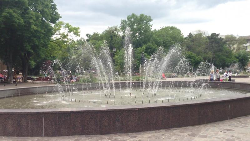Cимферополь парк им Тренева 26.05.2016