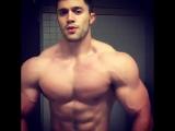big muscle flex