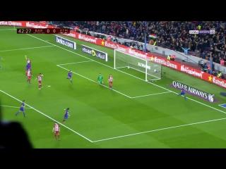 Барселона 1:0 Атлетико | Гол Суареса