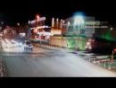 Внедорожник и поезд чуть не столкнулись в центре Южно Сахалинска ДТП авария