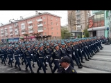 9 мая Рязань_курсанты РВВДКУ_баллада о солдате