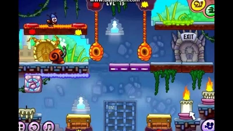 Граємо в гру Равлик Боб 7 Світ фантазій Частина 2